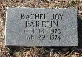 PARDUN, RACHEL - Pope County, Arkansas | RACHEL PARDUN - Arkansas Gravestone Photos
