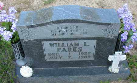 PARKS, WILLIAM L - Pope County, Arkansas | WILLIAM L PARKS - Arkansas Gravestone Photos