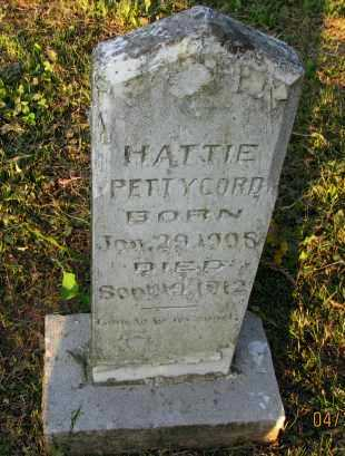 PETTYCORD, HATTIE - Pope County, Arkansas | HATTIE PETTYCORD - Arkansas Gravestone Photos