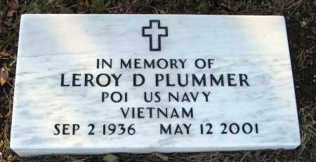 PLUMMER  (VETERAN VIET), LEROY D. - Pope County, Arkansas | LEROY D. PLUMMER  (VETERAN VIET) - Arkansas Gravestone Photos