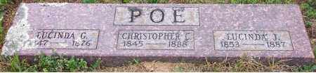 POE, CHRISTOPER COLUMBUS - Pope County, Arkansas | CHRISTOPER COLUMBUS POE - Arkansas Gravestone Photos