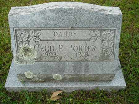 PORTER, CECIL R. - Pope County, Arkansas | CECIL R. PORTER - Arkansas Gravestone Photos