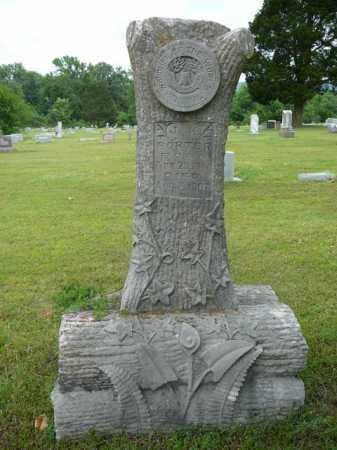 PORTER, J.W. - Pope County, Arkansas | J.W. PORTER - Arkansas Gravestone Photos