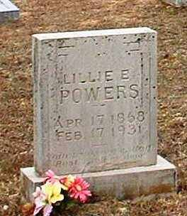 POWERS, LILLIE E - Pope County, Arkansas | LILLIE E POWERS - Arkansas Gravestone Photos