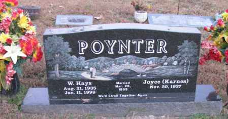 POYNTER, W  HAYS - Pope County, Arkansas | W  HAYS POYNTER - Arkansas Gravestone Photos