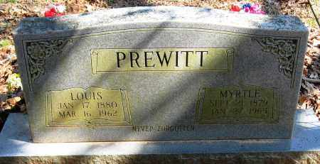 PREWITT, MYRTLE - Pope County, Arkansas | MYRTLE PREWITT - Arkansas Gravestone Photos