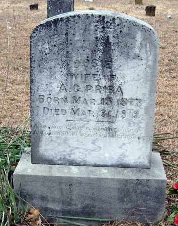 PRIBA, DOSIE - Pope County, Arkansas | DOSIE PRIBA - Arkansas Gravestone Photos