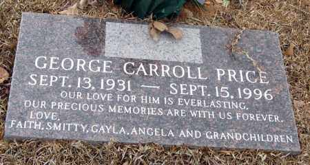 PRICE, GEORGE CARROLL - Pope County, Arkansas | GEORGE CARROLL PRICE - Arkansas Gravestone Photos