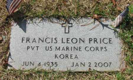 PRICE (VETERAN KOR), FRANCIS LEON - Pope County, Arkansas | FRANCIS LEON PRICE (VETERAN KOR) - Arkansas Gravestone Photos