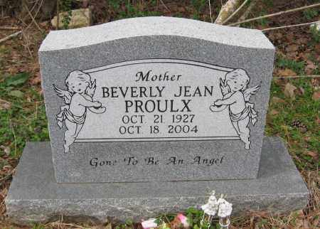 PROULX, BEVERLY JEAN - Pope County, Arkansas | BEVERLY JEAN PROULX - Arkansas Gravestone Photos