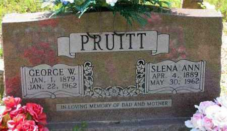 PRUITT, GEORGE W - Pope County, Arkansas | GEORGE W PRUITT - Arkansas Gravestone Photos