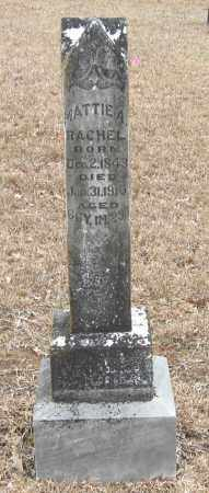 RACHEL, MATTIE A - Pope County, Arkansas | MATTIE A RACHEL - Arkansas Gravestone Photos