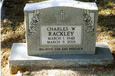 RACKLEY, CHARLES W - Pope County, Arkansas | CHARLES W RACKLEY - Arkansas Gravestone Photos