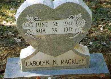 RACKLEY, CAROLYN N - Pope County, Arkansas | CAROLYN N RACKLEY - Arkansas Gravestone Photos