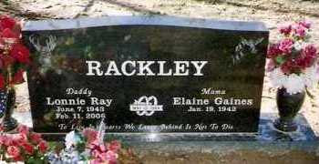 RACKLEY, LONNIE RAY - Pope County, Arkansas | LONNIE RAY RACKLEY - Arkansas Gravestone Photos