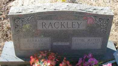 RACKLEY, ETHEL - Pope County, Arkansas | ETHEL RACKLEY - Arkansas Gravestone Photos
