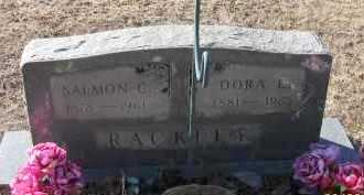 RACKLEY, DORA L - Pope County, Arkansas | DORA L RACKLEY - Arkansas Gravestone Photos