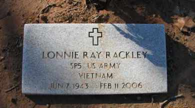 RACKLEY (VETERAN VIET), LONNIE RAY - Pope County, Arkansas | LONNIE RAY RACKLEY (VETERAN VIET) - Arkansas Gravestone Photos