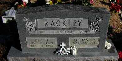 SUTTON RACKLEY, LILLIAN R. - Pope County, Arkansas | LILLIAN R. SUTTON RACKLEY - Arkansas Gravestone Photos