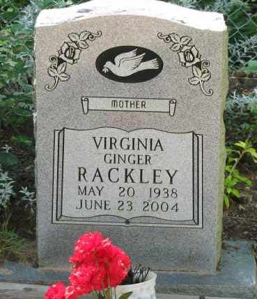 "RACKLEY, VIRGINIA ""GINGER"" - Pope County, Arkansas 