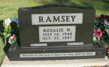FOUNTAIN RAMSEY, ROSALIE N - Pope County, Arkansas | ROSALIE N FOUNTAIN RAMSEY - Arkansas Gravestone Photos