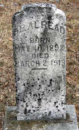 READ, ARAL - Pope County, Arkansas | ARAL READ - Arkansas Gravestone Photos
