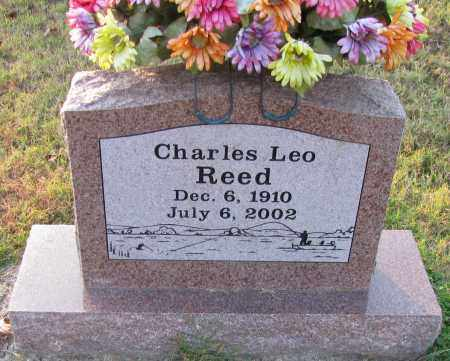 REED, CHARLES LEO - Pope County, Arkansas | CHARLES LEO REED - Arkansas Gravestone Photos