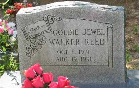 WALKER REED, GOLDIE JEWEL - Pope County, Arkansas | GOLDIE JEWEL WALKER REED - Arkansas Gravestone Photos