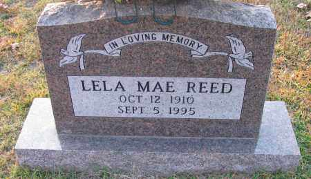 REED, LELA MAE - Pope County, Arkansas | LELA MAE REED - Arkansas Gravestone Photos