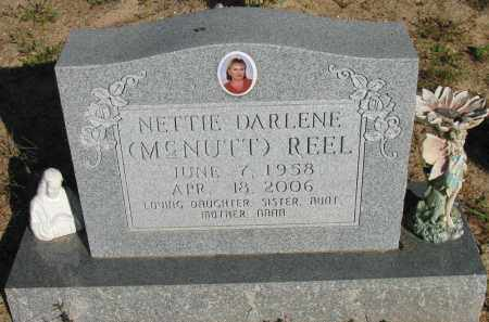 MCNUTT REEL, NETTIE DARLENE - Pope County, Arkansas | NETTIE DARLENE MCNUTT REEL - Arkansas Gravestone Photos