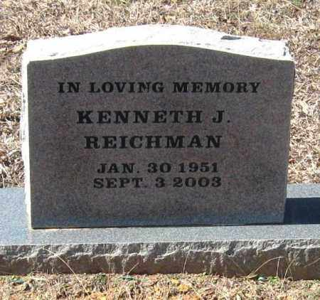 REICHMAN, KENNETH J - Pope County, Arkansas | KENNETH J REICHMAN - Arkansas Gravestone Photos