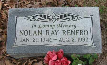 RENFRO, NOLAN RAY - Pope County, Arkansas | NOLAN RAY RENFRO - Arkansas Gravestone Photos