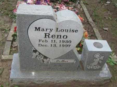 RENO, MARY LOUISE - Pope County, Arkansas | MARY LOUISE RENO - Arkansas Gravestone Photos