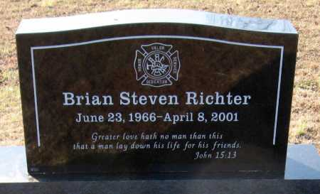 RICHTER, BRIAN STEVEN - Pope County, Arkansas | BRIAN STEVEN RICHTER - Arkansas Gravestone Photos