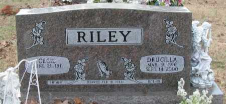RILEY, DRUCILLA - Pope County, Arkansas | DRUCILLA RILEY - Arkansas Gravestone Photos