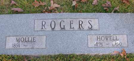 ROGERS, HOWELL - Pope County, Arkansas | HOWELL ROGERS - Arkansas Gravestone Photos