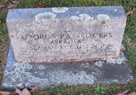 ROGERS (VETERAN), GEORGE RAY - Pope County, Arkansas | GEORGE RAY ROGERS (VETERAN) - Arkansas Gravestone Photos