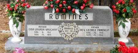 ROMINES, GEORGE FRANKLIN - Pope County, Arkansas | GEORGE FRANKLIN ROMINES - Arkansas Gravestone Photos