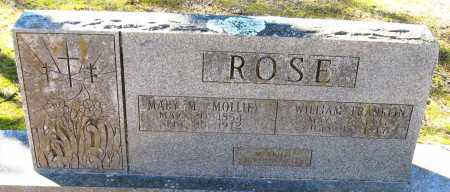 ROSE, MARY M (MOLLIE) - Pope County, Arkansas | MARY M (MOLLIE) ROSE - Arkansas Gravestone Photos