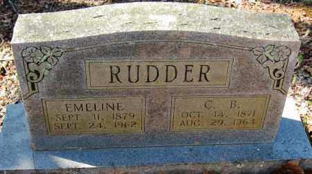 RUDDER, C B - Pope County, Arkansas | C B RUDDER - Arkansas Gravestone Photos
