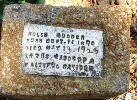 RUDDER, HELEN - Pope County, Arkansas | HELEN RUDDER - Arkansas Gravestone Photos