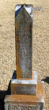 RUSHING, MATTIE A. - Pope County, Arkansas | MATTIE A. RUSHING - Arkansas Gravestone Photos