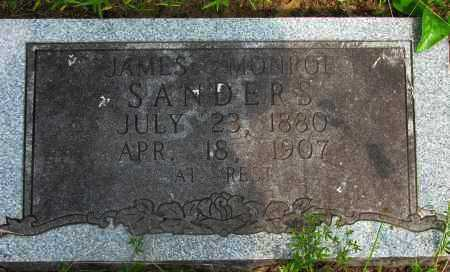 SANDERS, JAMES MONROE - Pope County, Arkansas | JAMES MONROE SANDERS - Arkansas Gravestone Photos
