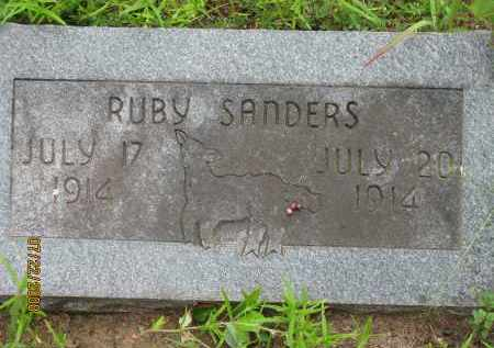SANDERS, RUBY - Pope County, Arkansas | RUBY SANDERS - Arkansas Gravestone Photos