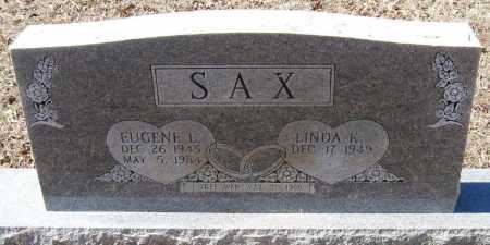 SAX, EUGENE L - Pope County, Arkansas | EUGENE L SAX - Arkansas Gravestone Photos