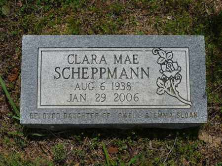 SCHEPPMANN, CLARA - Pope County, Arkansas | CLARA SCHEPPMANN - Arkansas Gravestone Photos