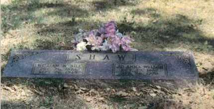 WILSON SHAW, JOANNA - Pope County, Arkansas | JOANNA WILSON SHAW - Arkansas Gravestone Photos