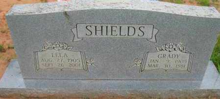 SHIELDS, LELA - Pope County, Arkansas | LELA SHIELDS - Arkansas Gravestone Photos