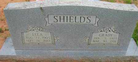 SHIELDS, GRADY - Pope County, Arkansas | GRADY SHIELDS - Arkansas Gravestone Photos