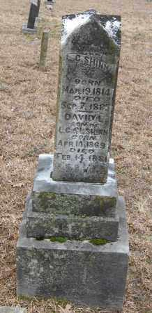 SHINN, DAVID - Pope County, Arkansas | DAVID SHINN - Arkansas Gravestone Photos